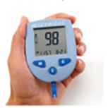 microdot® BLood Glucose monitoring system easy to read display